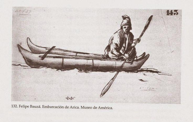 Fig.  2.   Dibujo tomado del natural  en el puerto de Arica, hecho por el dibujante de la expedición Malaspina don Felipe Bauzá  (Sagredo y González, 2004: 718).