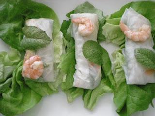 Springroll raw - Involtino di primavera, ricetta originale Vietnamita, tutto a crudo.