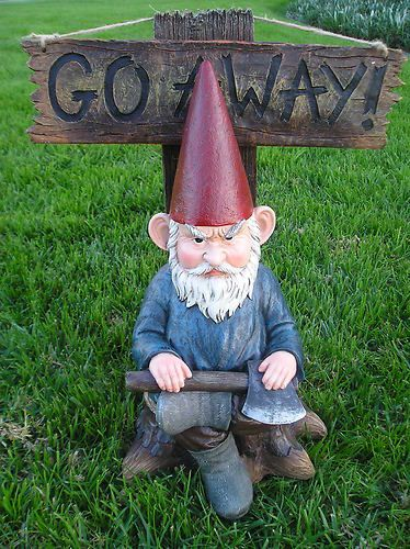 "I want this for my front yard! Instead of the traditional ""Welcome"" ones. Lol"