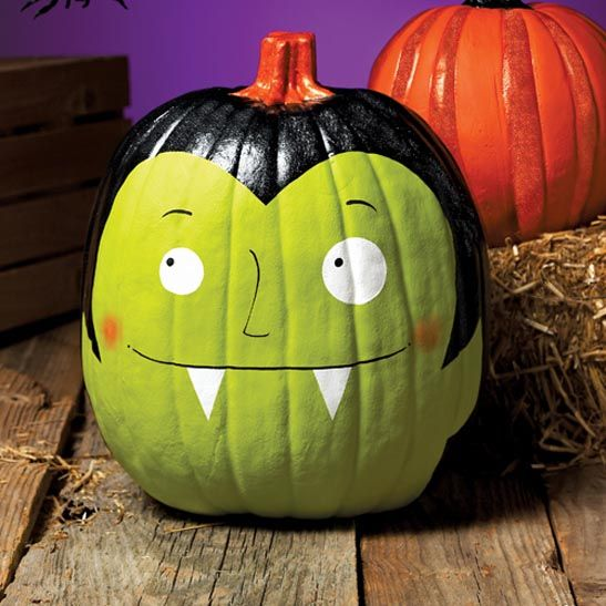 75 no carve diy halloween pumpkin decorating ideas the ultimate roundup - How To Paint Pumpkins For Halloween