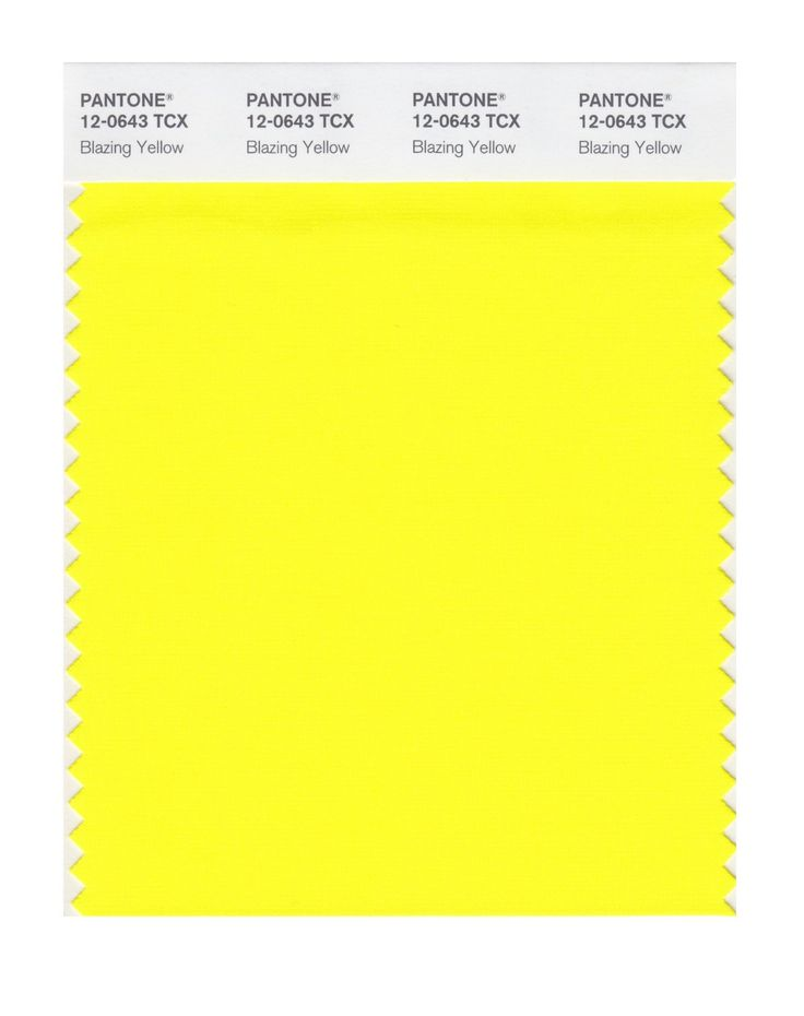 PANTONE SMART 12 0601X Color Swatch Card Eggnog