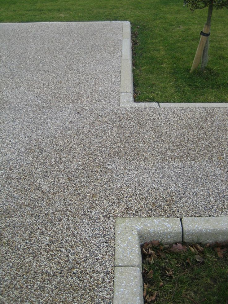 8 best sloped driveways images on pinterest driveway for Sloped driveway options