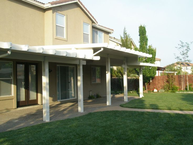 Duralum aluminum covers at RicksFencing.com. Check our wide range of cover types and styles including Duralum aluminum patio covers.