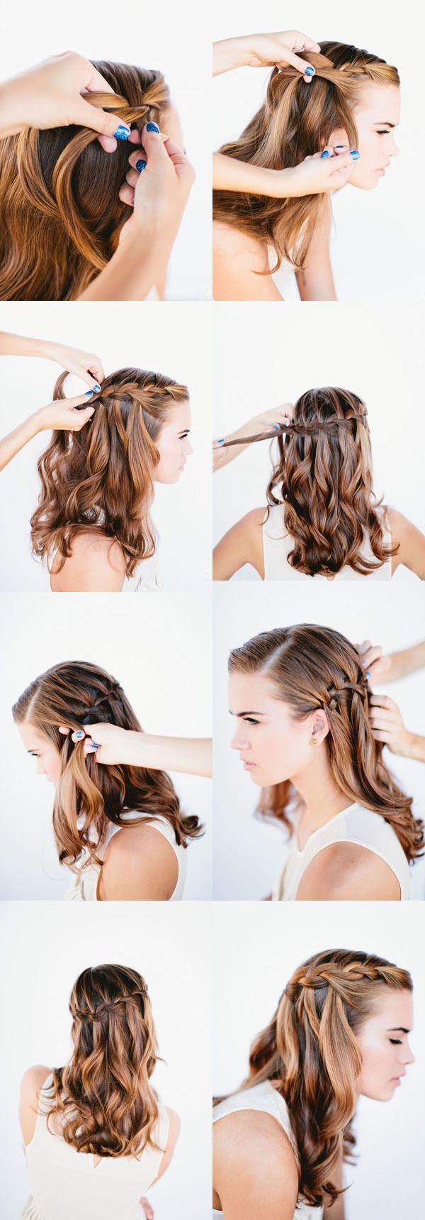 225 best DIY HAIR STYLES images on Pinterest | Hairstyles, Diy hair ...