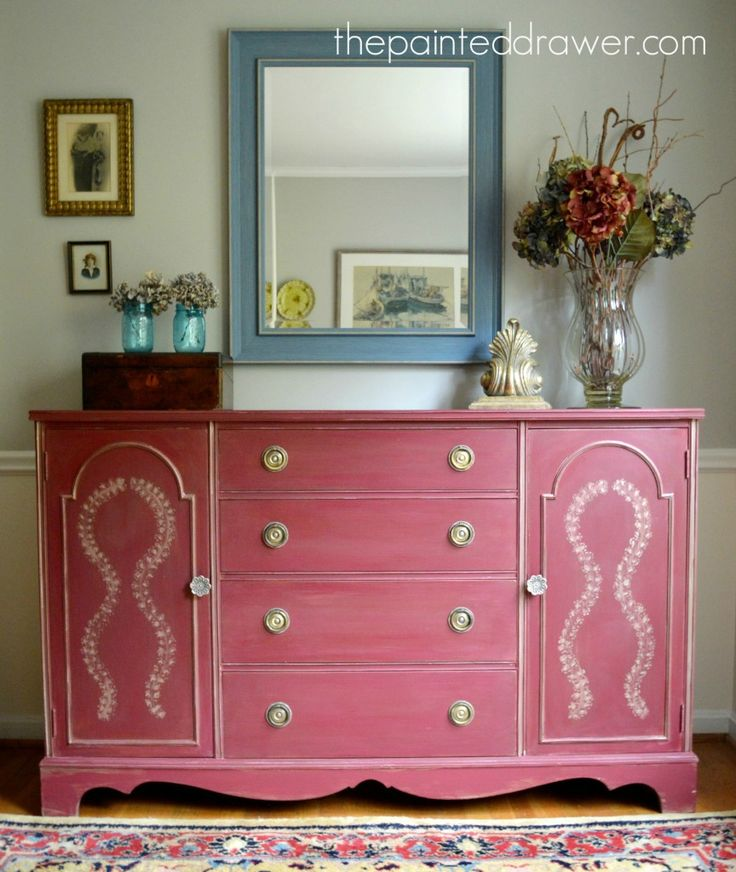 42 best Painted Sideboards and Buffets images on Pinterest | Antique ...