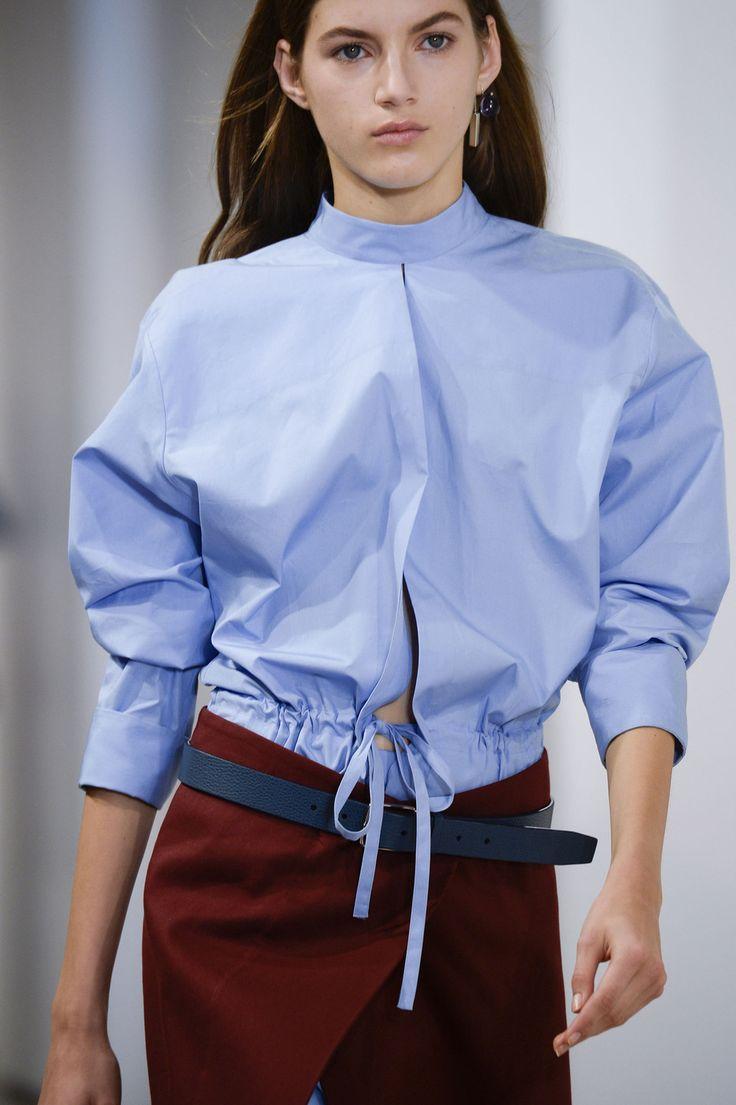 206 details photos of Jil Sander at Milan Fashion Week Spring 2015.