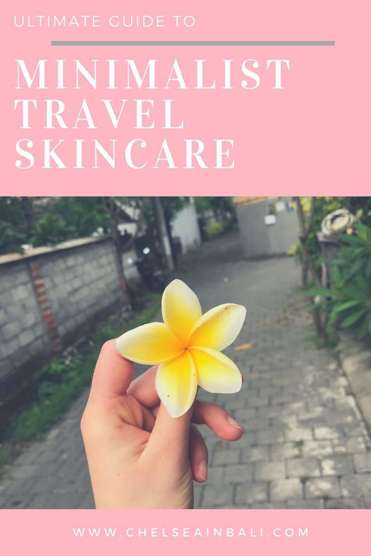 Minimalist Skincare Routine for Travel or Home