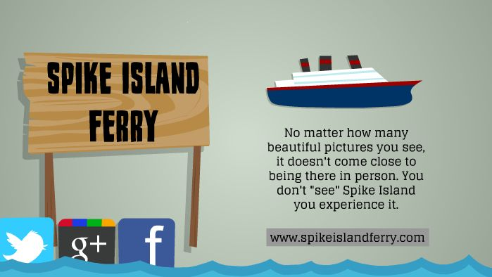 Travel with Spike Island Ferry.