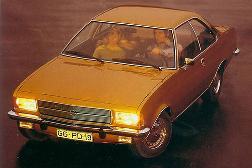 Opel Rekord C coupe 1972