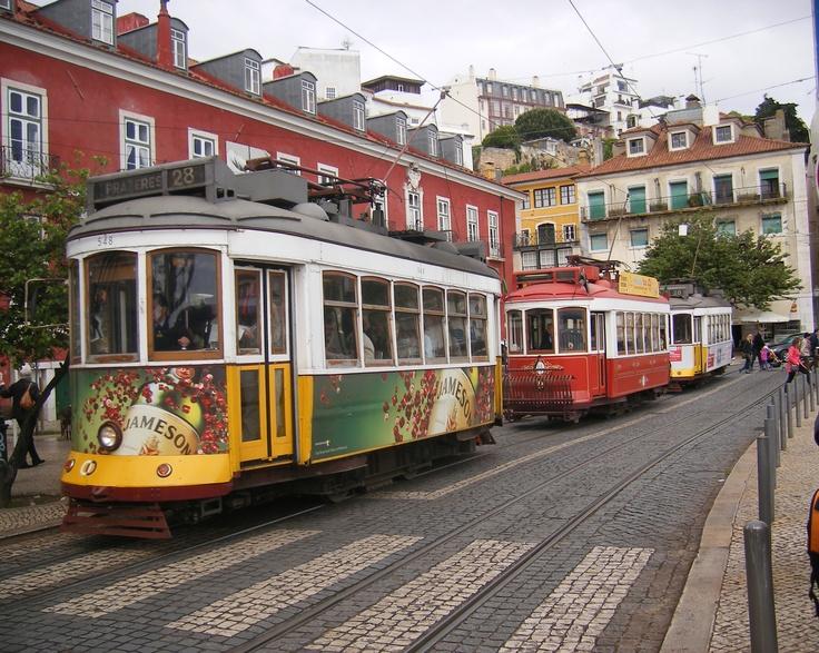 No hay nada como los tranvias de Lisboa.