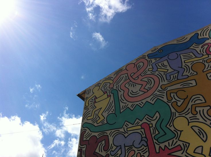 Tuttomondo - Pisa, Keith Haring art