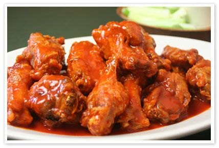 INGREDIENTS:  Texas Pete's My Favorite wing Sauce!!!  2 1/2 lbs. (12-15) whole chicken wings or (24-30) split wing pieces  3 Tablespoons Texas Pete® Hot Sauce  2 Tablespoons butter or margarine