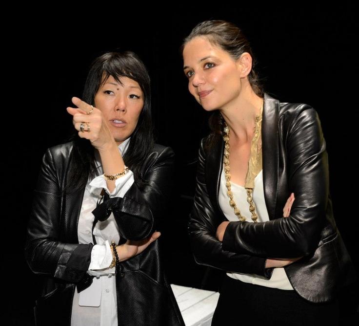 Katie Homes & Jeanne Yang