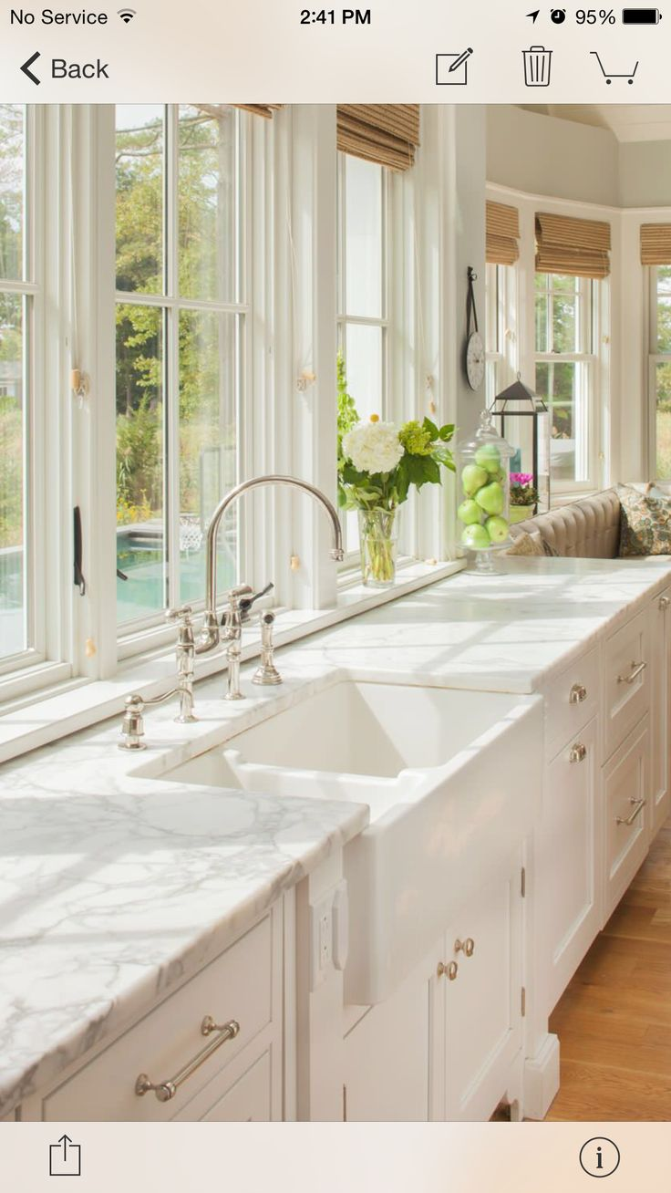 White apron galleria 7 - 1351 Best Images About Beautiful Kitchens On Pinterest French Kitchens Traditional Kitchens And White Granite