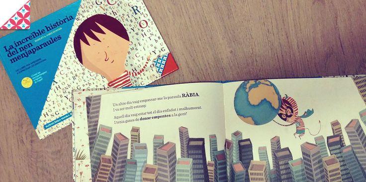La increïble història del nen menjaparaules - Babulinka Books - Llibres emocionalment inspiradors