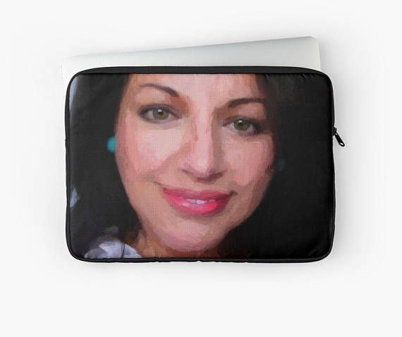 Personalized portrait on Laptop case / Ipad case Laptop