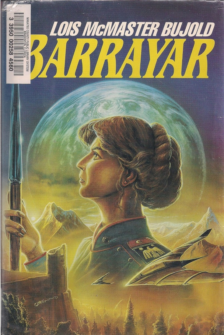 Original Cover For Barrayar Showing Cordelia In Her Old Uniform Barrayar  Was The First Book