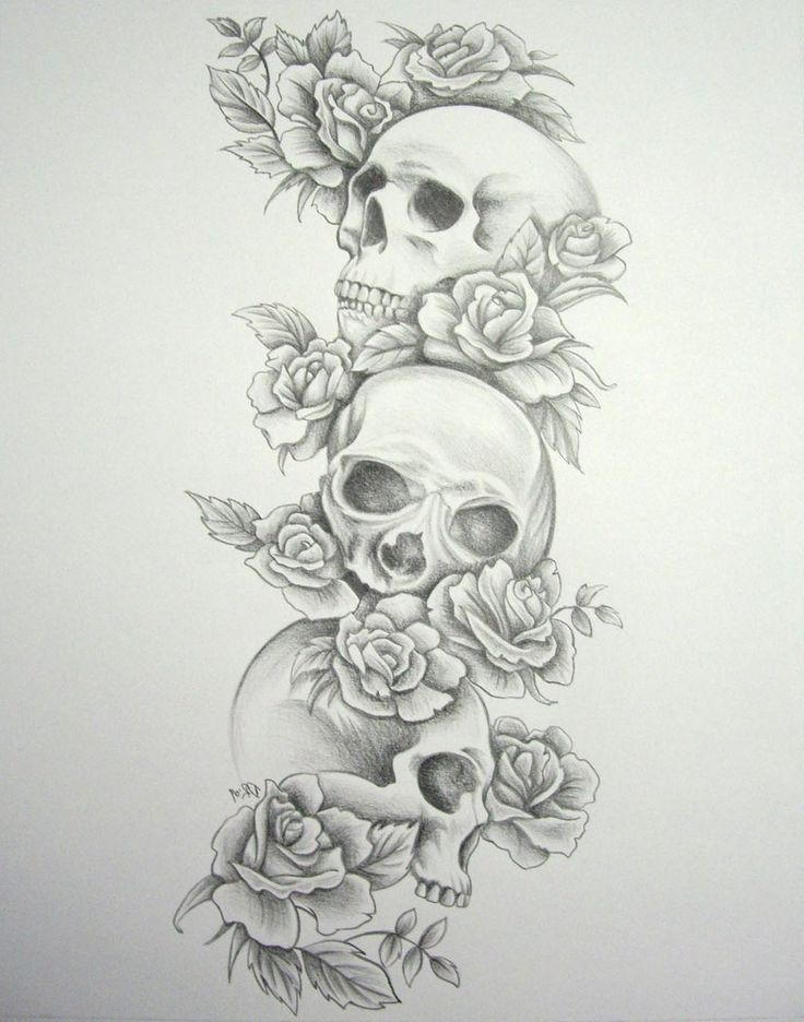 Tag: skull and rose sleeve tattoo designs - Best Tattoo Design