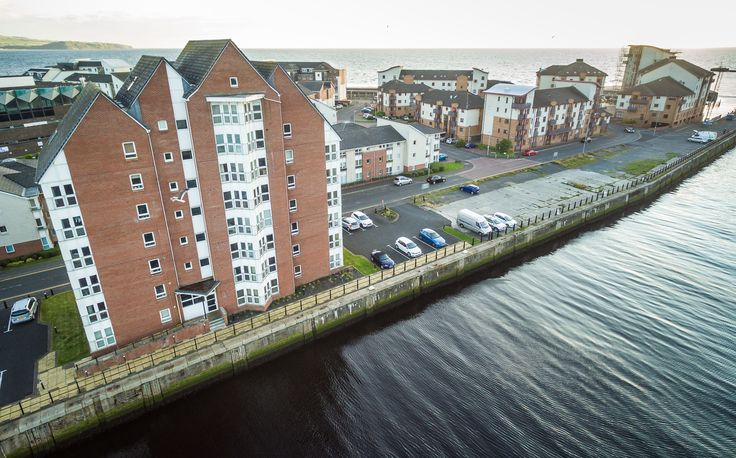 South Harbour Apartments, Ayr.   #whywefly #aerialpixls #djiinspire1