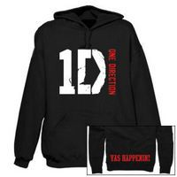 One Direction: One Direction Vas Happenin Black Hoodie