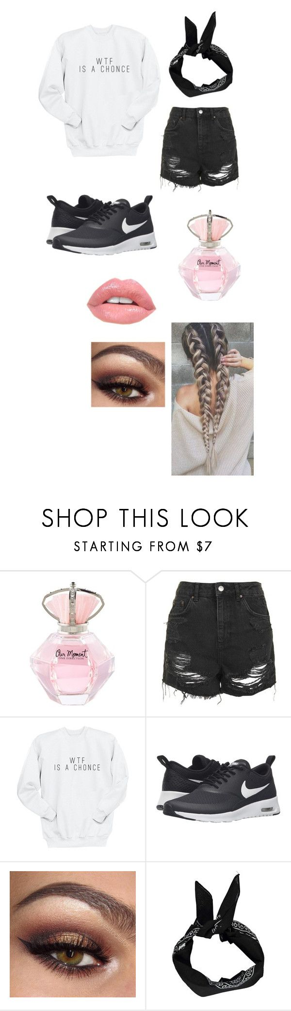 """""""one direction outfit"""" by nomitjuh on Polyvore featuring mode, Topshop, NIKE en Boohoo"""