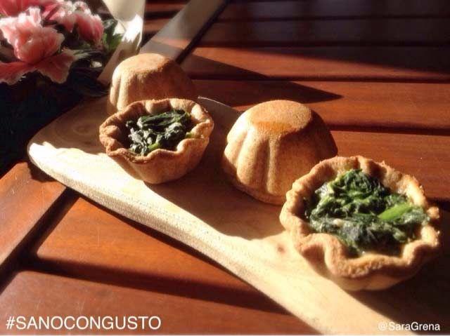 Cestini di ricotta e spinaci