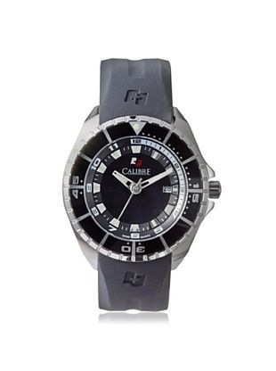 71% OFF Calibre Men's 4S2-04-001.7 Sealander Black Rubber Watch