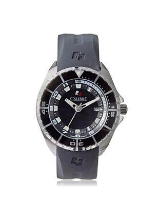 71% OFF Calibre Men's 4S2-04-001.7 Sealander Black Rubber Watch