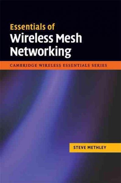 Are you involved in implementing wireless mesh networks? As mesh networks move towards large-scale deployment, this highly practical book provides the information and insights you need. The technology