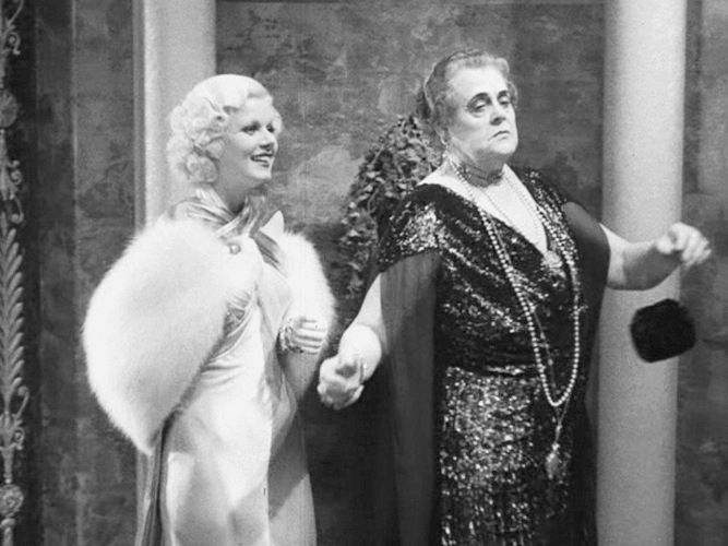 Jean Harlow and Marie Dressler in Dinner at Eight (George Cukor, 1933) ~ In this scene, Marie Dressler has the best line in the entire film! ~ One of my favorite movies, I watch it every time I can ~ NMB ~ 2014 ~