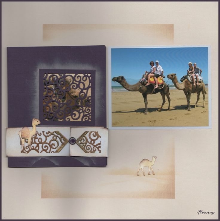 #Azza #Sjablonen #Gabarits # Stencils #Scrapbooking #Pages accordéon