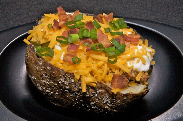 Houston Astros — Minute Maid Park-that potato has pulled pork on it