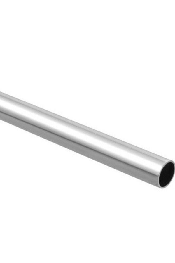 Box Of 6 Chrome Round Closet Tubing Rods 1 1 16 Diameter X 8 Lb 10 A104 8 Q6 Closet Solutions Metal Brackets Rods Closet Rod No Closet Solutions Chrome Finish