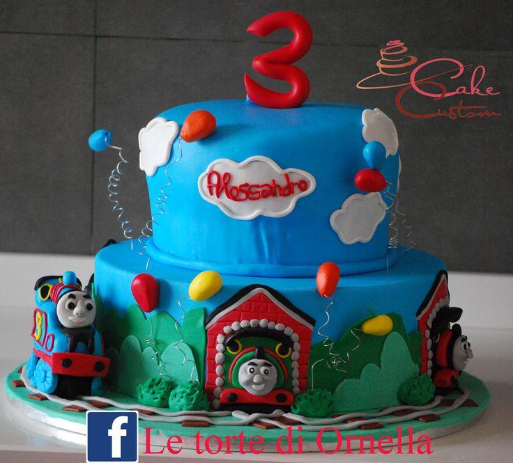 1000 idee su torte trenino thomas su pinterest le torte for Decorazioni torte trenino thomas