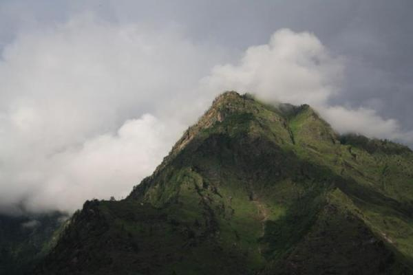Mountain ranges in Joshimath
