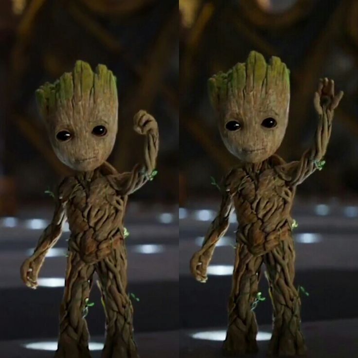 Baby Groot says hi - Imgur
