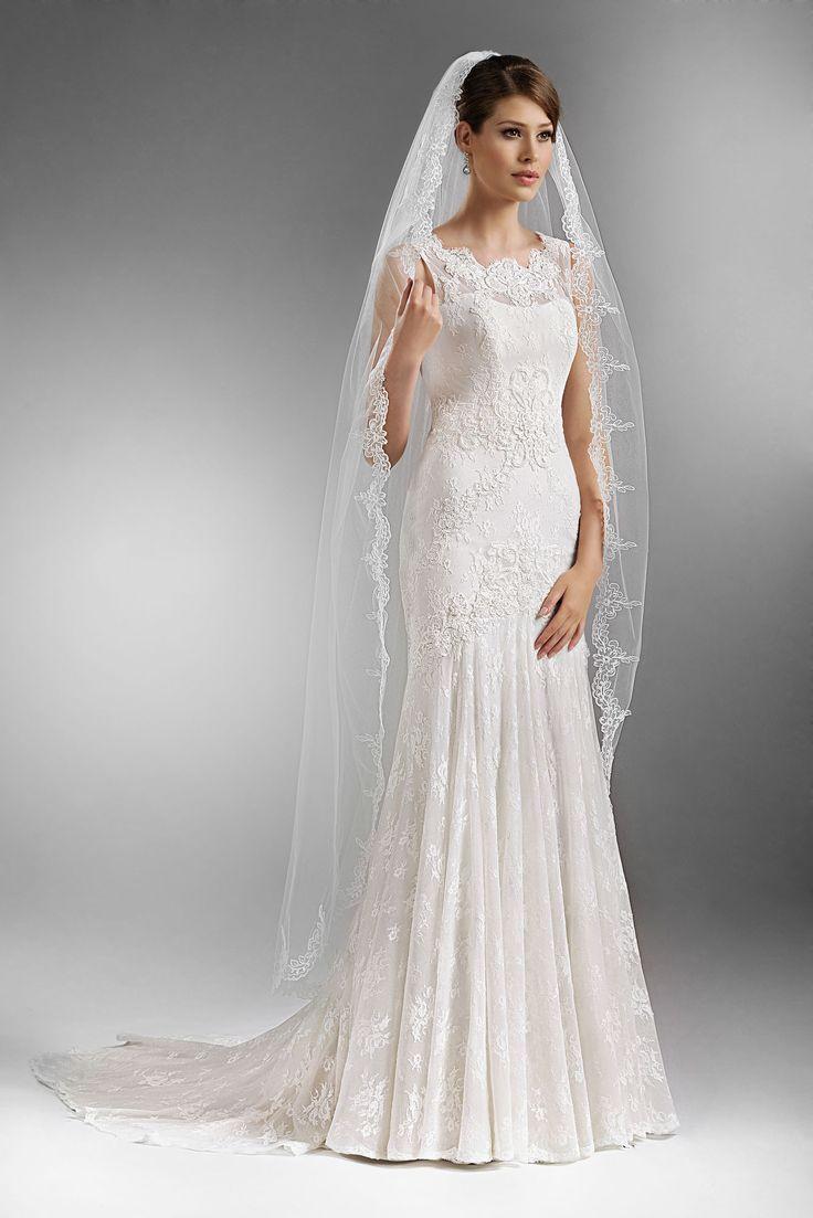 TO-572 - The One 2016 - Kolekcja sukni ślubnych Agnes - koronkowe suknie ślubne
