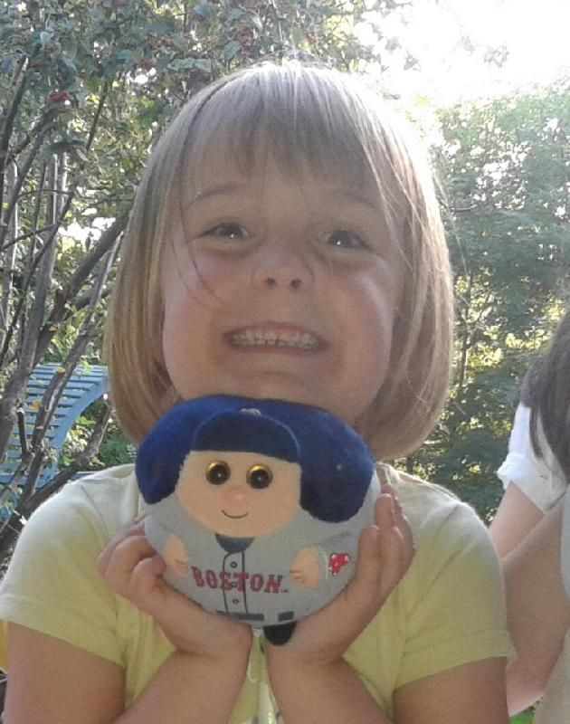 Lost on 16 Jul. 2016 @ Glasgow city centre/southside. My daughter lost her beloved beenie ball on the train from Langside to Glasgow Central. It's a Boston Red Sox character, as pictured (though a little more grubby). Would appreciate any help reuniti... Visit: https://whiteboomerang.com/lostteddy/msg/rpex0d (Posted by Catriona on 17 Jul. 2016)