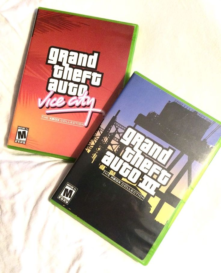 Xbox, Grand theft Auto 3 And Grand Theft Auto Vice City