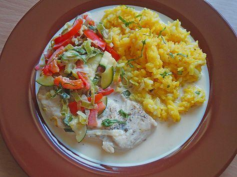 Putenmedaillons in cremiger Gemüsesauce mit Gelbreis, ein beliebtes Rezept aus der Kategorie Geflügel. Bewertungen: 586. Durchschnitt: Ø 4,5.