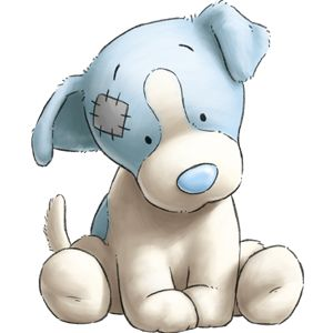 Cachorrinho Super Dengoso com Nariz Azul