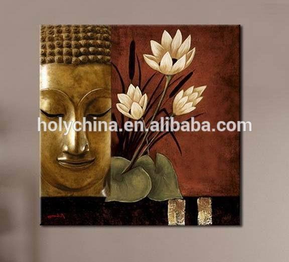 Venta caliente de alta calidad buda pinturas al óleo abstractas-en Pintura y Caligrafía de Decoración de Hogar en m.spanish.alibaba.com.