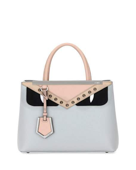 Get Free Shipping On Fendi 2jours Pee Monster Calf Tote Bag At Neiman Marcus The Latest Luxury Fashions From Top Designers