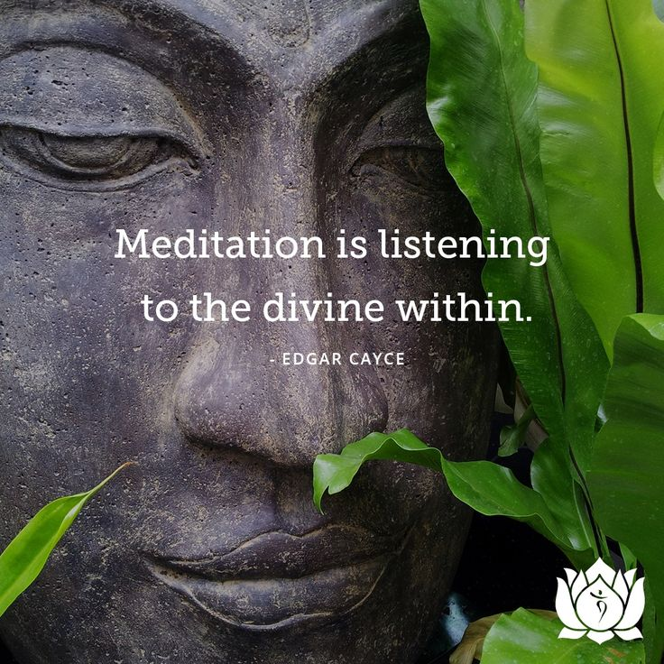 #Meditation is the practice of quieting our mind & focusing our attention inward instead of upon the #world around us