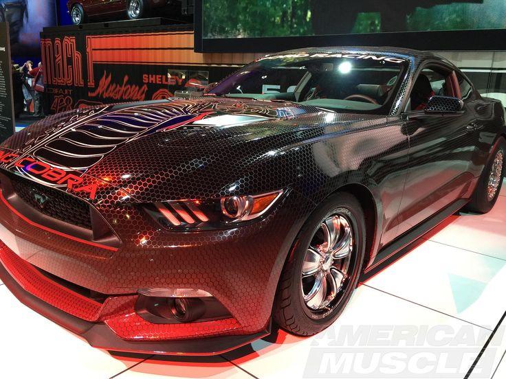 Шестой рестайлинг Ford Mustang