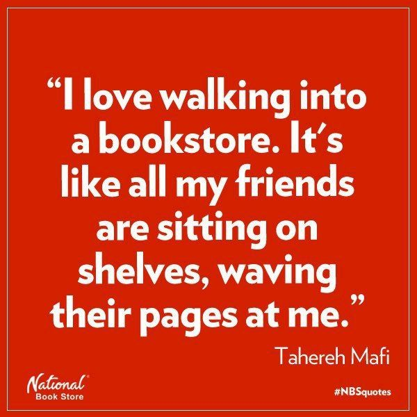 I always stop short when I enter a book shop to take in the smell and the ambiance of the shop ~ I would hate to see that go away
