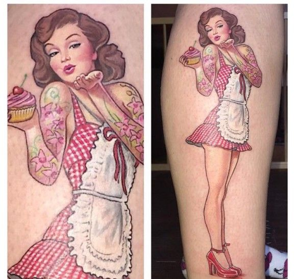 Drool Over These Delicious Cupcake Tattoos!