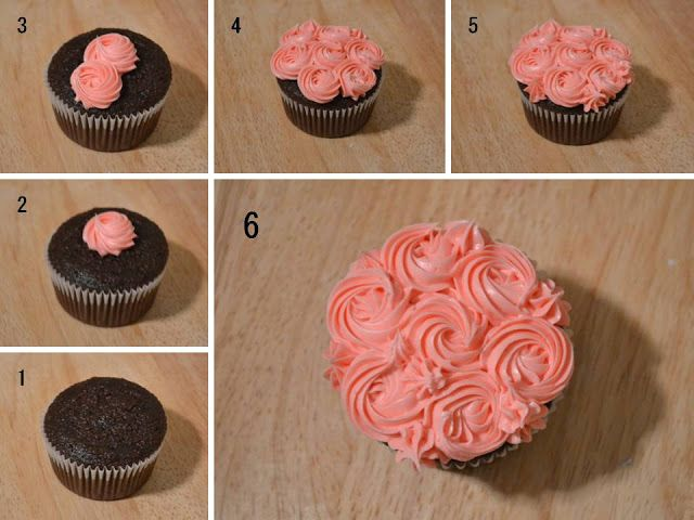 Learn to frost the perfect cupcake.  (They make perfect treats for your #Valentine!)