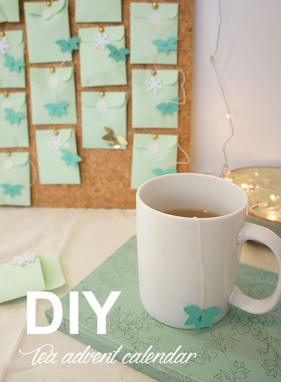 DIY: How to make your own beautiful Advent Calendar with Tea in less than 1 hour.