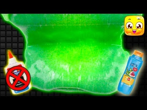 how to make water slime without glue or borax